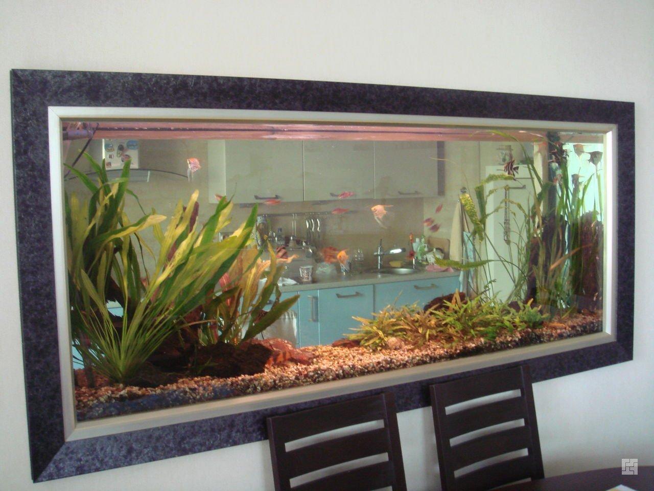 Как украсить аквариум своими руками 64