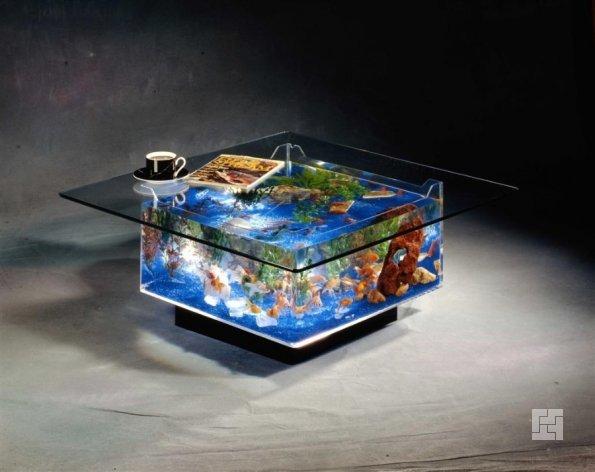 Аквариум-стол