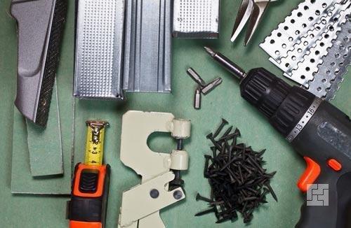 Инструменты для строительства арки