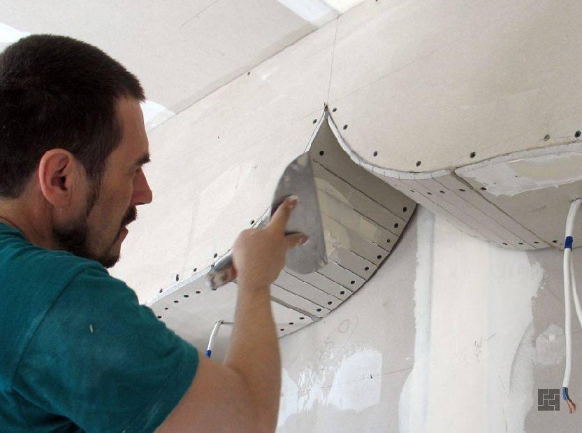 Как самому сделать стены с гипсокартона