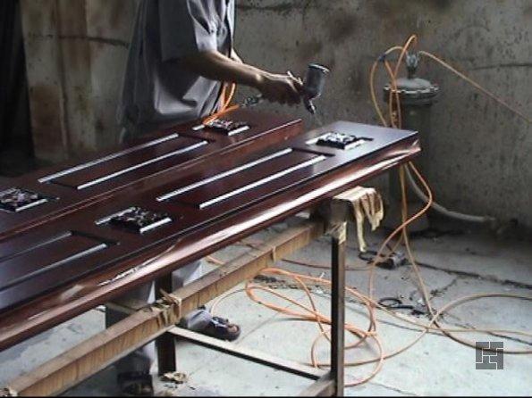 Производство дверей кустарным способом