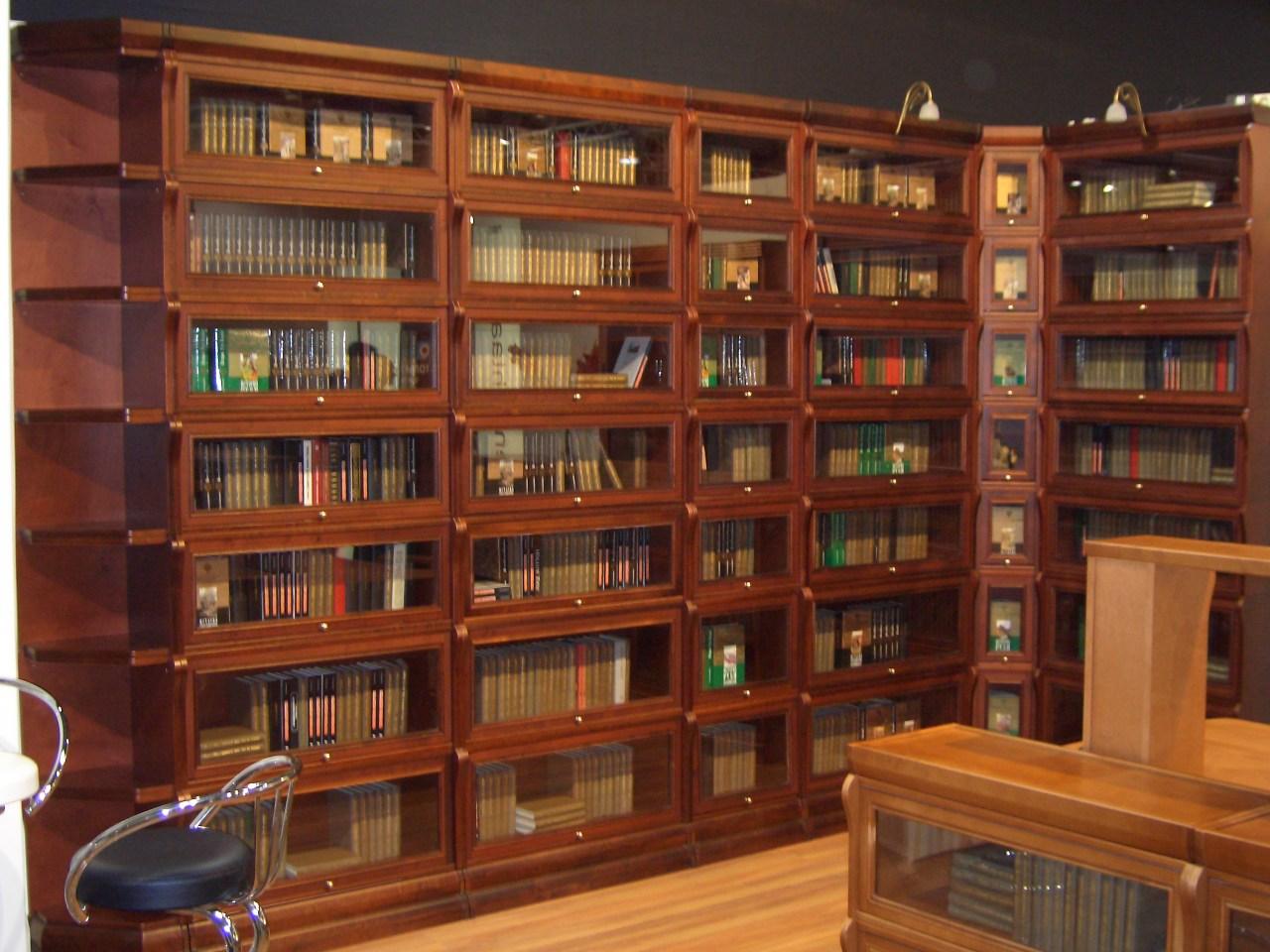 Стеллажи в библиотеку своими руками.