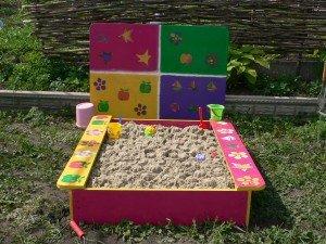 оформление песочницы