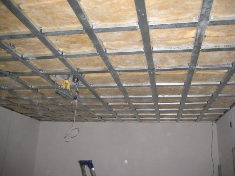 Как сделать потолок под гипсокартон 354
