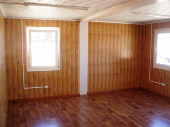 Комната с отделкой стен из панелей МДФ