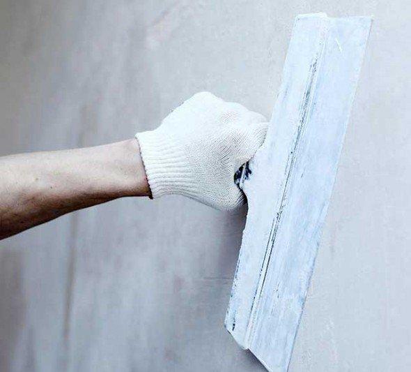 Необходимость шпаклевания стен под обои