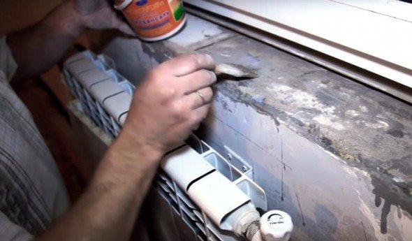 Грунтовка бетонного основания