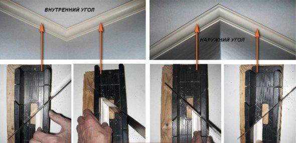 Как обрезать галтели в стусле