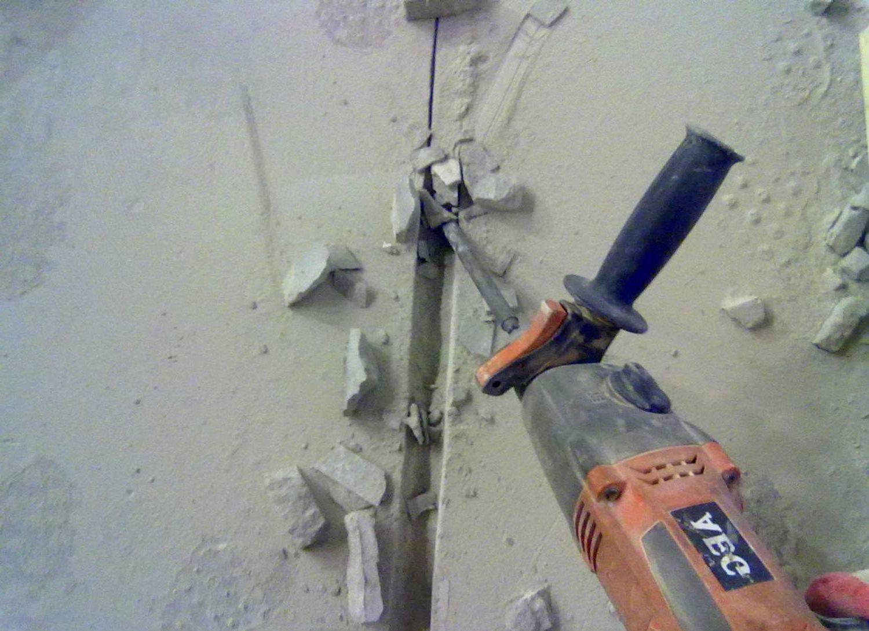 Как сделать штробу для проводки
