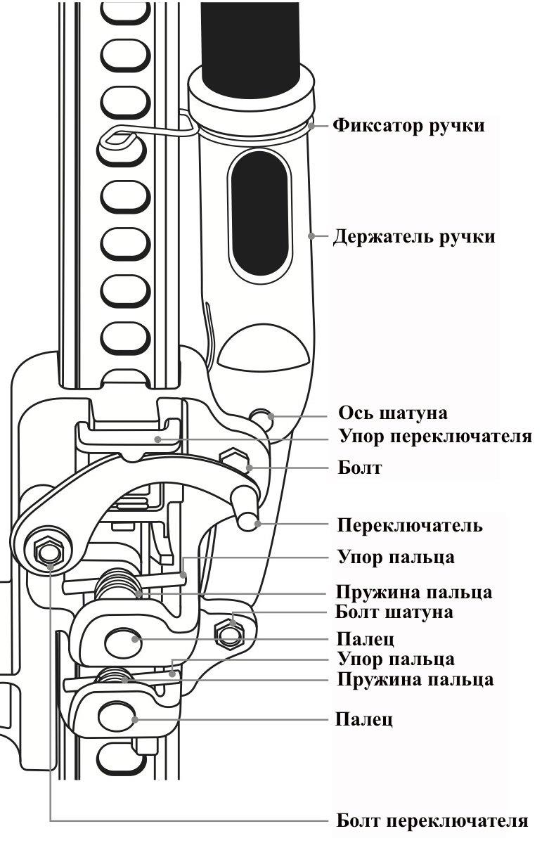 Устройство подъёмного механизма