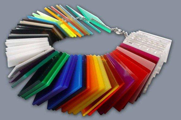 Цветное оргстекло