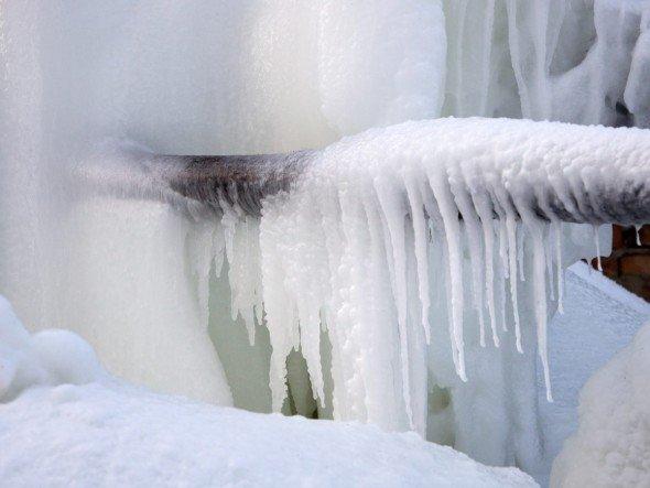 Замерзшая труба