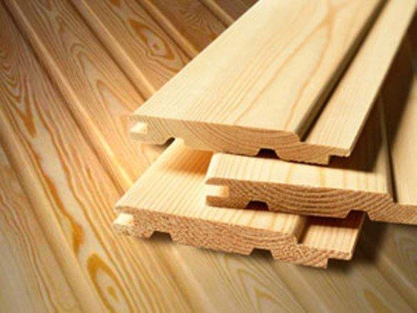 Панели деревянной вагонки