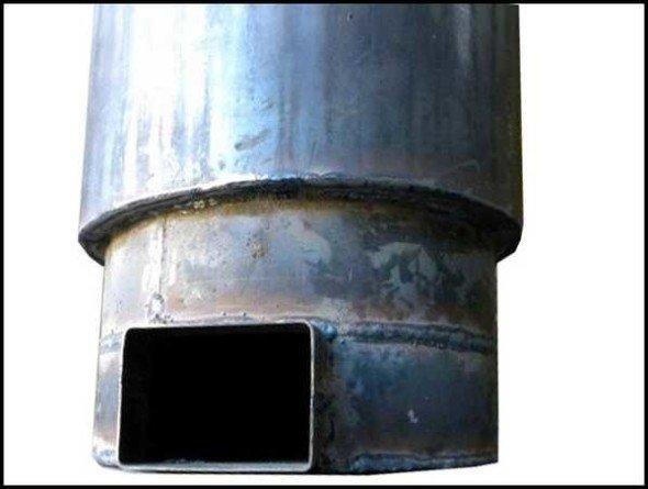 Самодельный корпус из двух труб