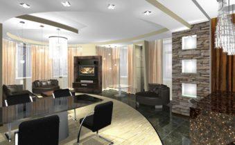 Интерьер кухни, совмещенной с гостиной, и что о нем надо знать