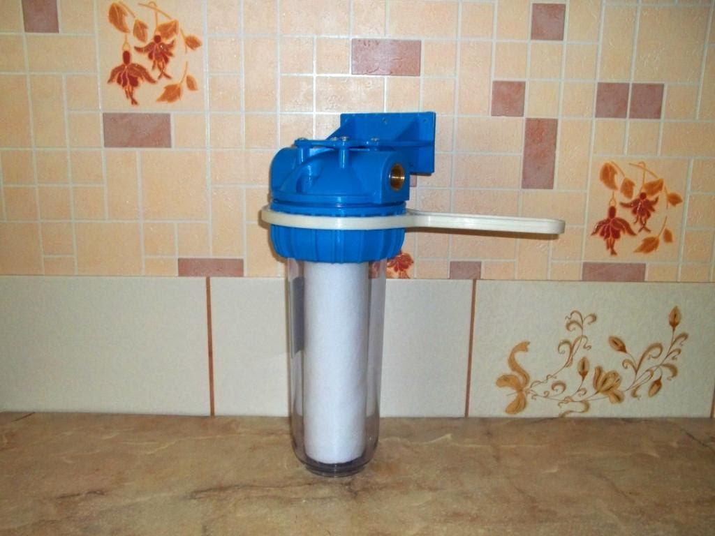 Фильтры грубой очистки для воды установка своими руками