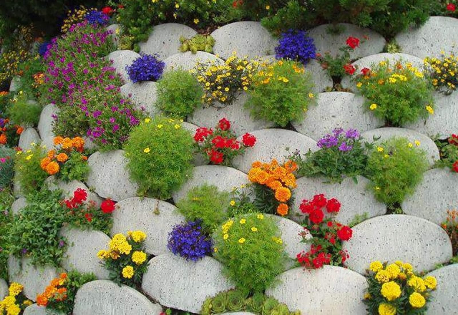 Оформление цветников и клумб своими руками