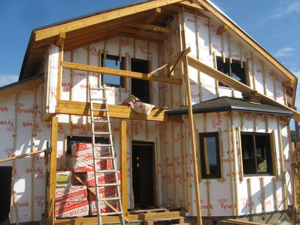 Установка пластиковых окон своими руками в деревянный дом из бруса
