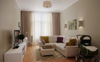Секреты оформления гостиной комнаты