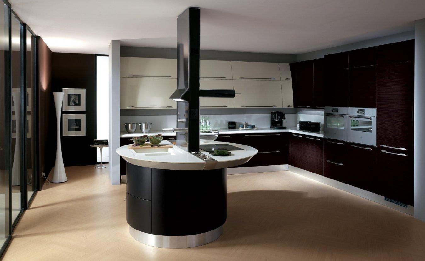 Высокие технологии в проекте »кухня в стиле хай-тек»