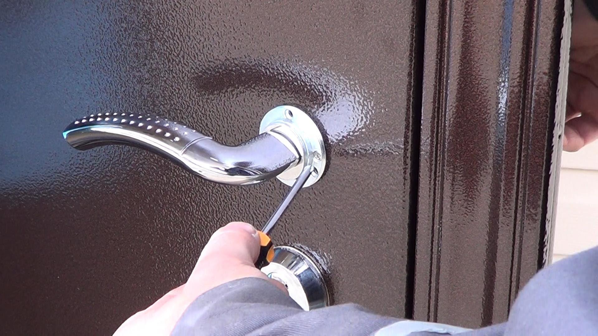Как отрегулировать металлическую дверь своими руками