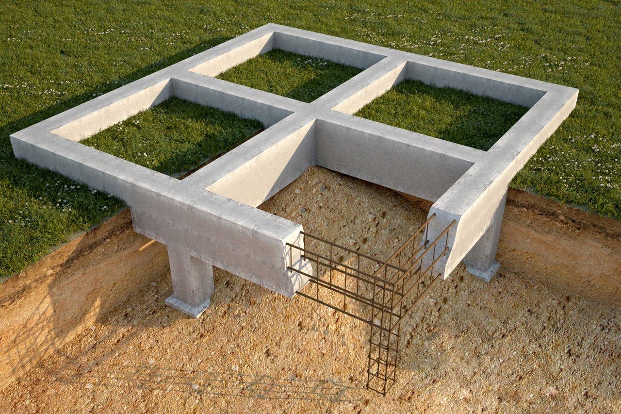 Как заложить фундамент для дома своими руками