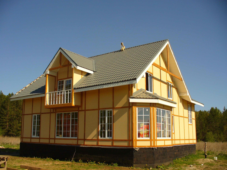 Как правильно построить каркасный дом 170