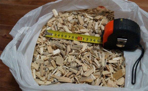Фракция древеснй щепы