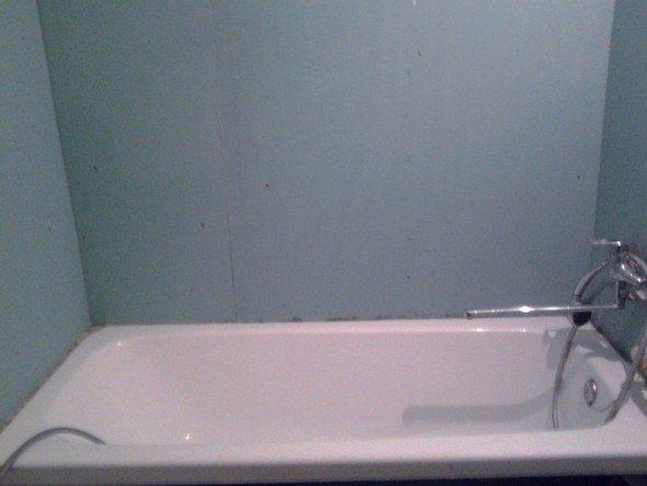 гипсокартон на стенах ванной