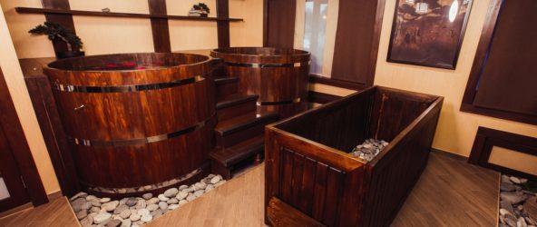 Японские бани в нашем доме