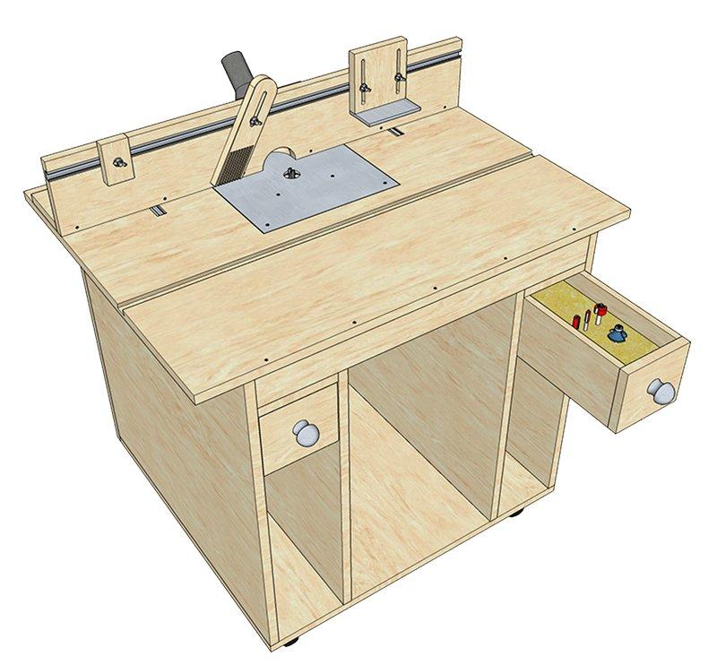 Стол для ручных фрезеров своими руками