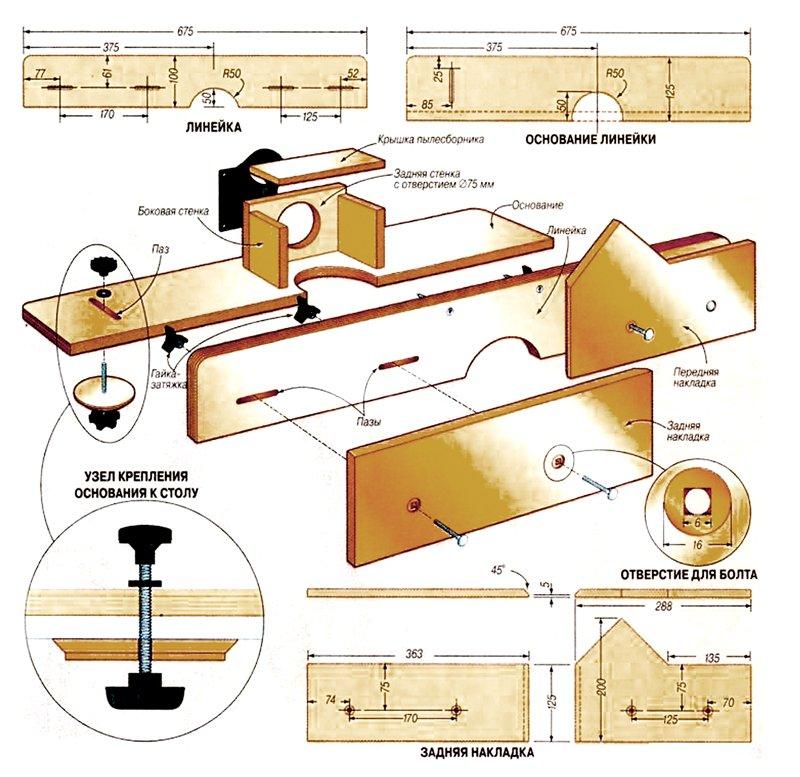Как сделать стол для ручного фрезер 7