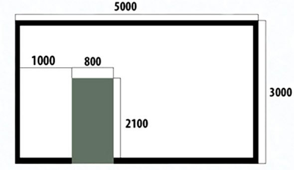 Схема расположения направляющего профиля при монтаже гипсокартона