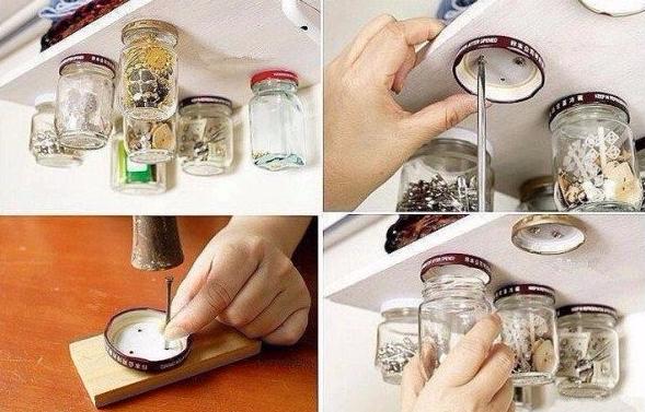 Оригинальный способ хранения мелких предметов