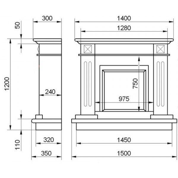 Конструкция портала для электрокамина угловые порталы для электрокаминов своими руками