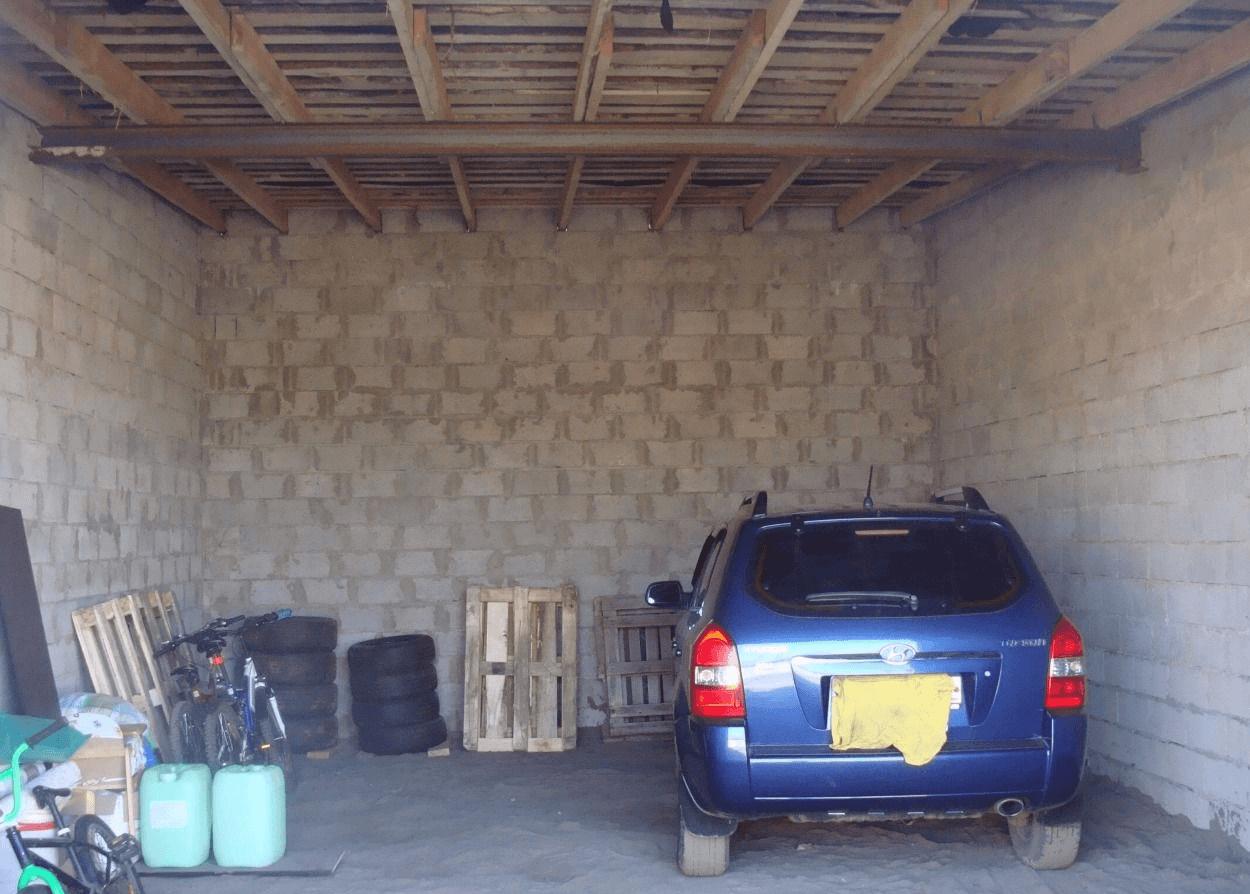 Чем покрыть пол в гараже своими руками