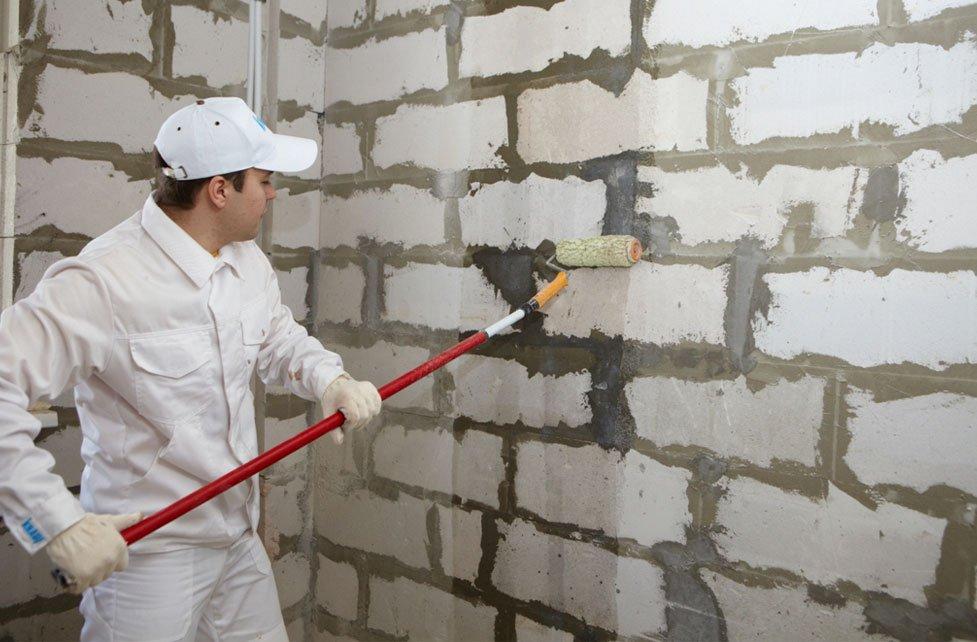Как отштукатурить газобетонную стену своими руками