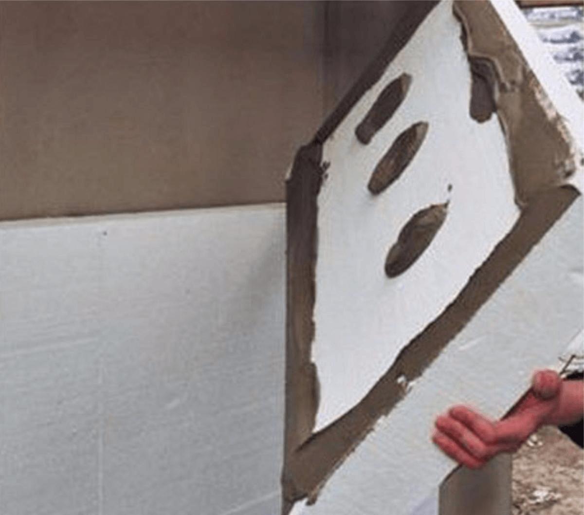 наружнее утепление стен пошаговая инструкция