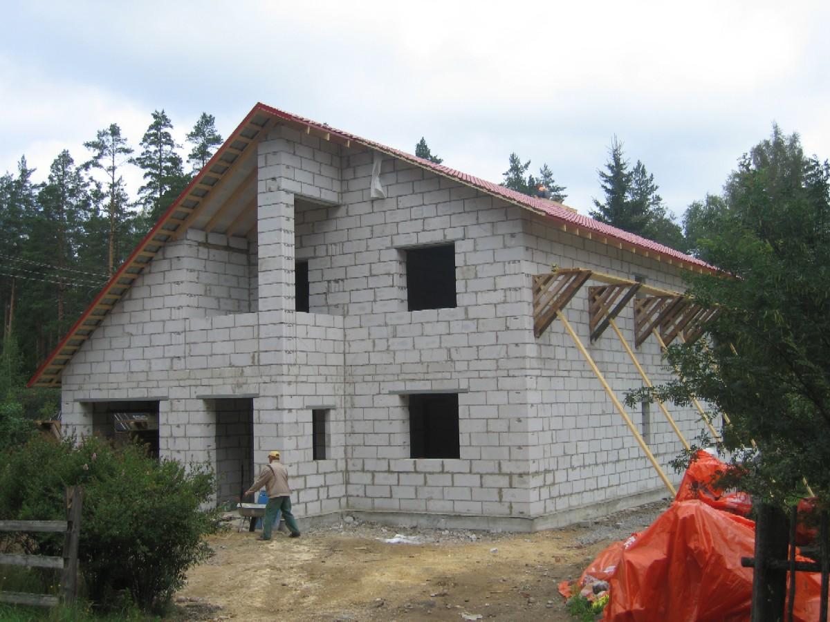 Дом из пеноблоков с своими руками