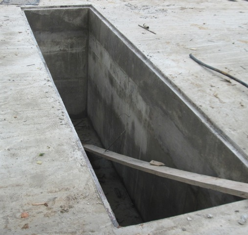 Вариант из бетона