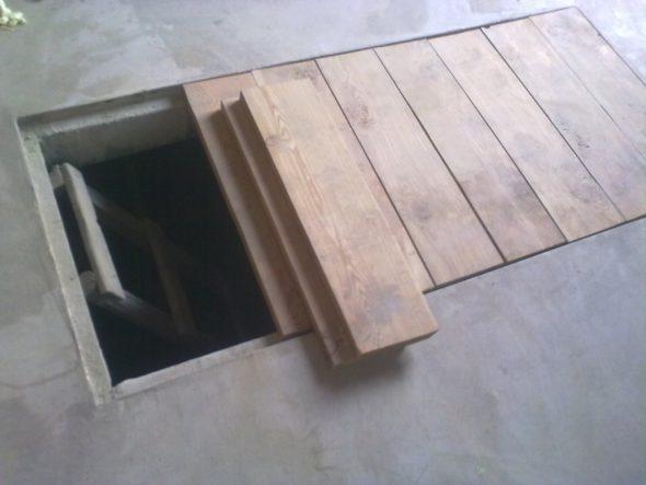 Покрытие смотровой ямы в гараже