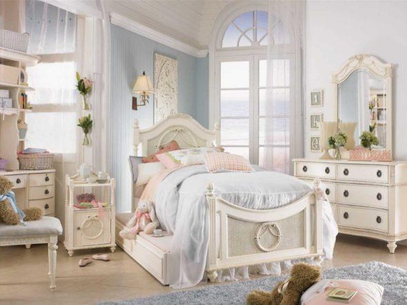 Детская комната — уменьшенный вариант спальни в стиле прованс
