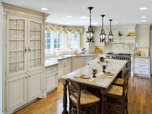 Мебель для кухни во француском стиле