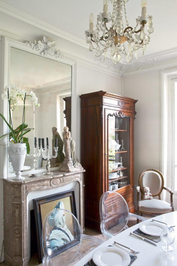 Гостиная в парижском стиле