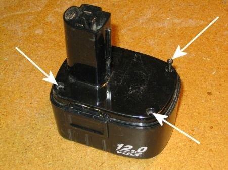 Разборный корпус аккумулятора