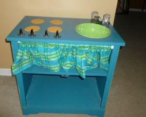 Декорирование детской кухни