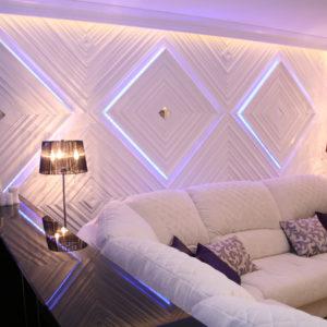 Декоративная подсветка стен