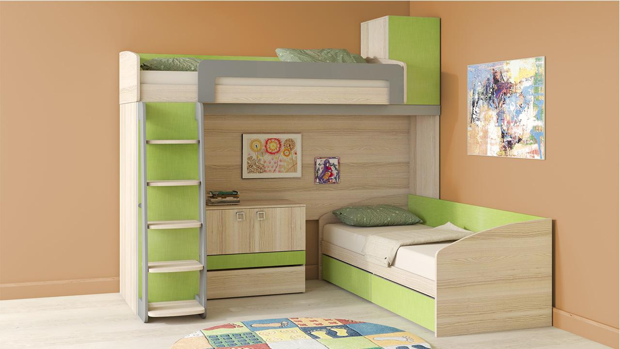 Двухъярусные кровати от 6800 руб. Купить двухъярусную кровать ...