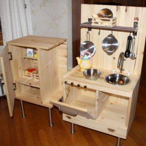 Детская кухня из ДВП