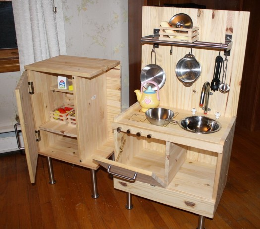 Детский кухонный гарнитур своими руками